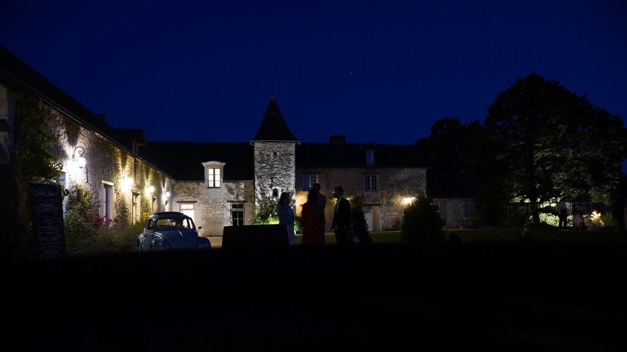 Domaine de la Volière by night
