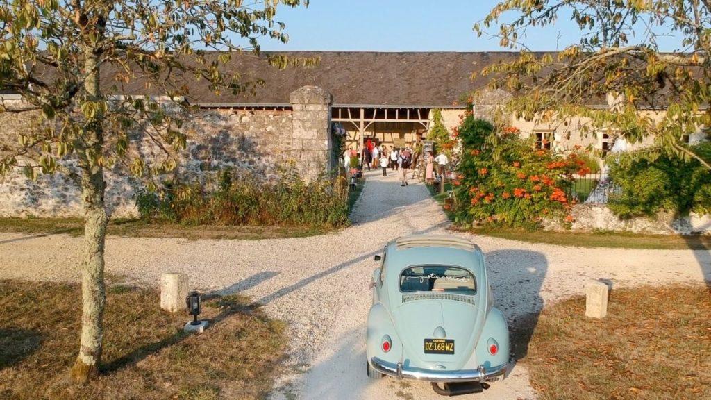VW Coccinelle Just-Married au Domaine de la Volière