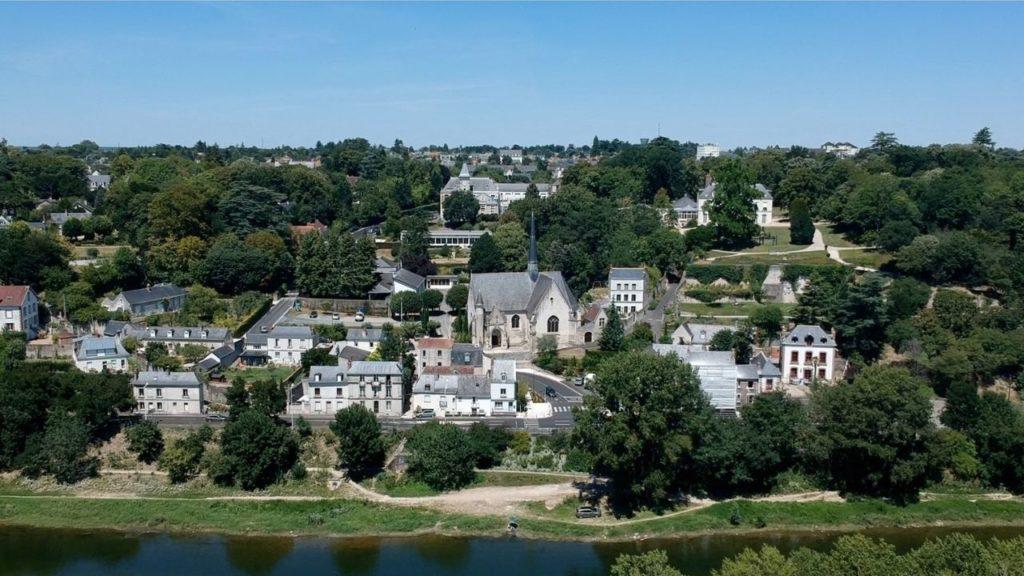 Eglise de Saint-Cyr par drone