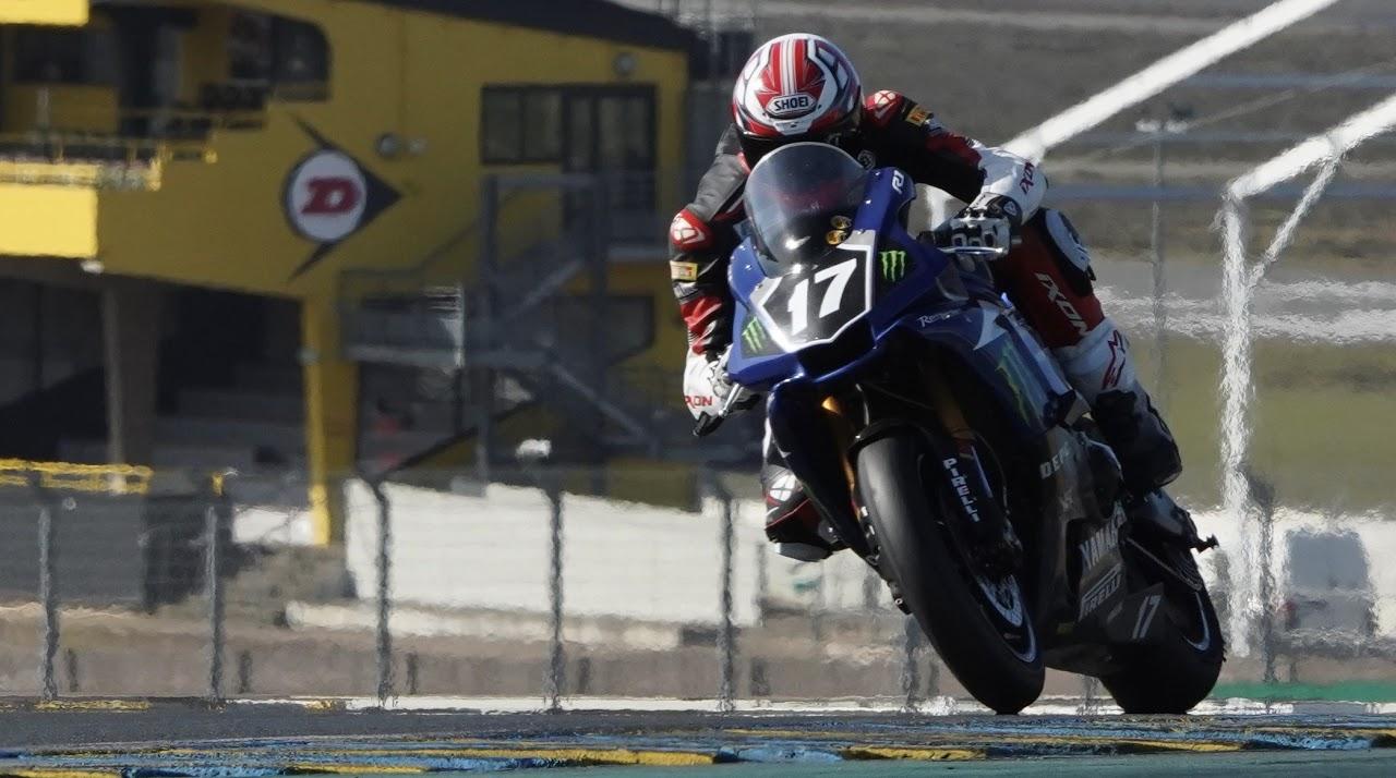 Moto course Le Mans