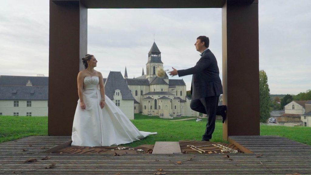 Mariage à l'Abbaye de Fontevraud