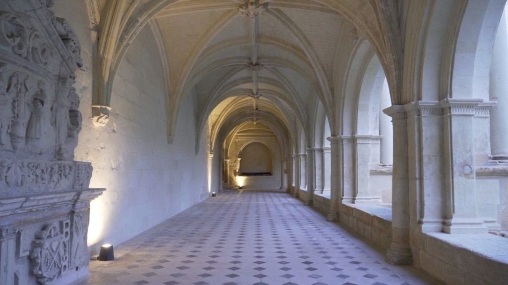 Couloir, Abbaye de Fontevraud