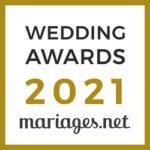 Wedding Award 2021 mariages.net